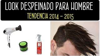 Peinado hombre: Look despeinado