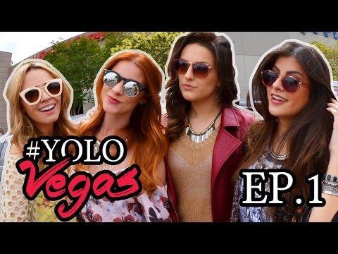 #YOLOVEGAS EP 01 - Aeroporto, Las Vegas Strip, Helicóptero no Grand Canyon e mais!