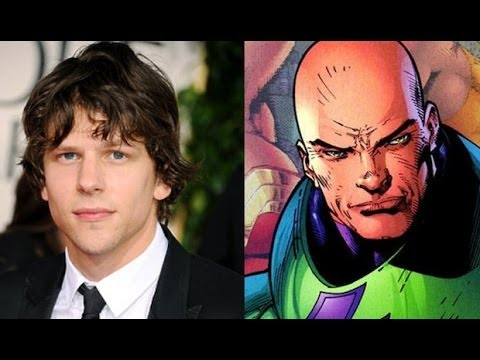 AMC Movie Talk - Jesse Eisenberg as Lex Luthor, WONDER WOMAN Greek Gods As Aliens?
