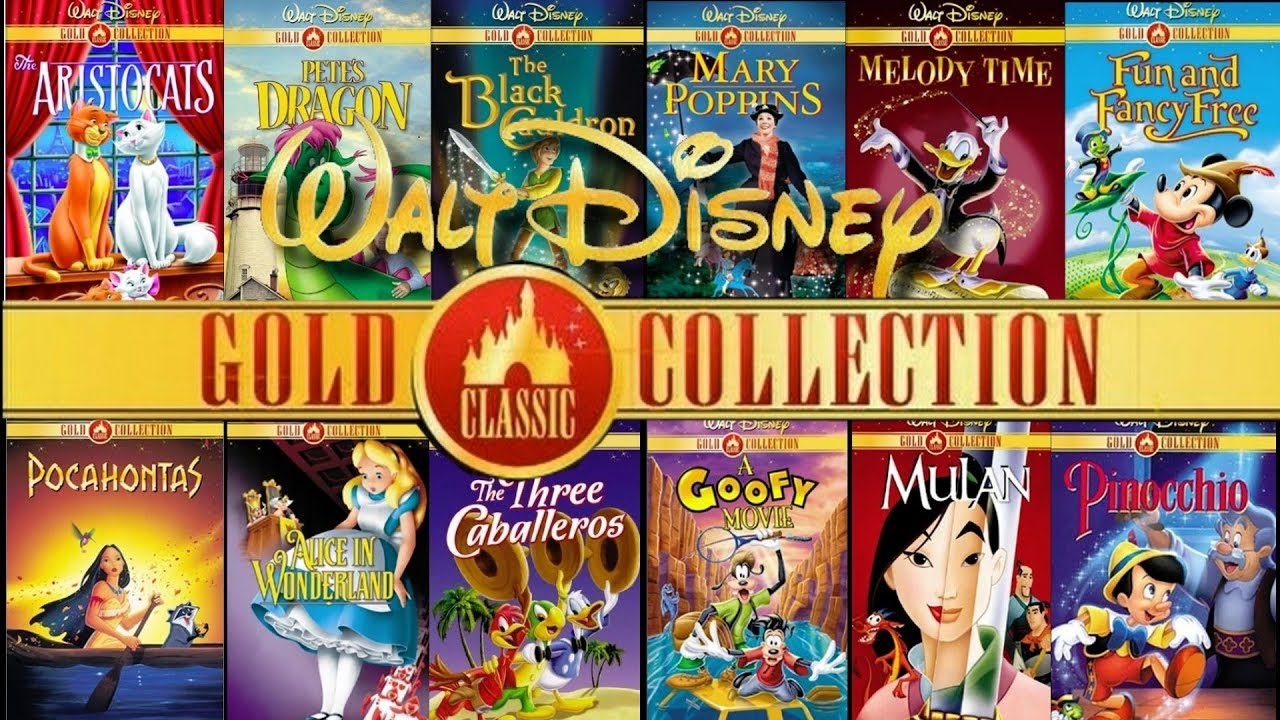 my disney dvd gold collection