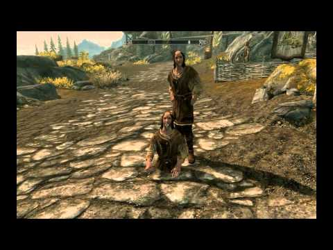 Elder Scrolls V: Skyrim -  Funny Glitchy Bugs, A youtuber, YouBigNugget post a video about funny bug in Skyrim. See it if you want to see a funny bug/glitches!
