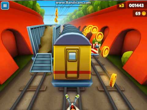 الحلقه #3 Subway Surfers