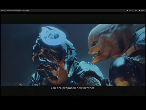 Halo 4 - Spartan ops Episodes 1-5 Mini-Movie [HD]