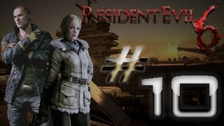 Resident Evil 6 Detonado (Walkthrough) Jake Parte 10 HD