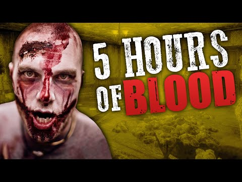 5 HOURS OF BLOOD ★ Call of Duty Zombies Mod (Zombie Games)