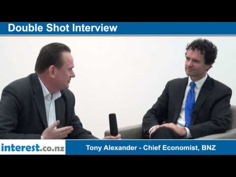 Double Shot Interview with Tony Alexander Chief Economist, BNZ