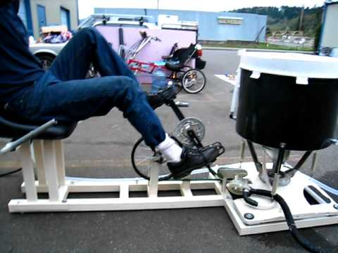 human powered machine