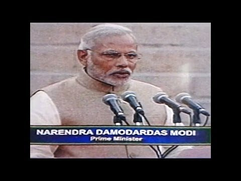 """NARENDRA MODI - BRAND EXCLUSIVE SHAPATH(SWEAR) CEREMONY"" full video"