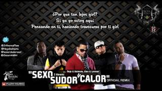 Sexo, Sudor y Calor Remix ~ J Alvarez ft. Ñejo  Dalmata, Zion  Lennox ~Letra~Lyrics 2011 view on youtube.com tube online.