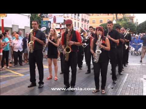 Fallas Dénia 2013: III Concurso Nacional de Charangas Ciutat de Dénia (Falla Port Rotes)