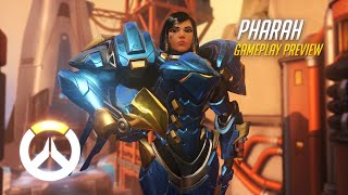 Overwatch: Pharah Gameplay Preview