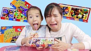 Trò chơi Thử Thách ăn Kẹo Thối - Bean Boozled Challenge ♥ Dâu Tây Channel