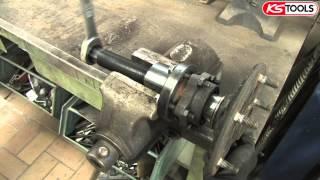 Anwendungsvideo Radlager-Werkzeug-Satz Ford Transit KS