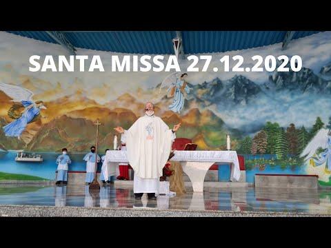 Santa Missa | 27.12.2020 | Domingo | Padre José Sometti | ANSPAZ