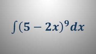 Integral – uvedba nove spremenljivke 2