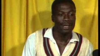 Tony Greig & Curtly Ambrose hilarious 1988 interview