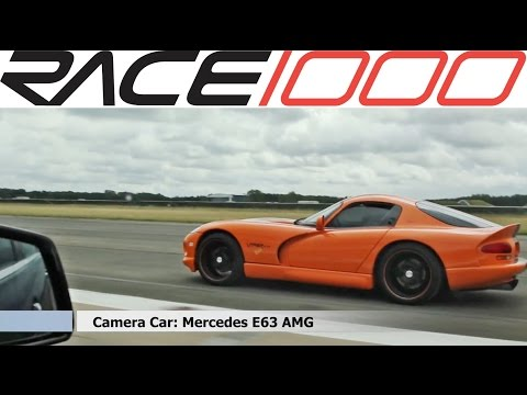 Dodge Viper GTS vs. E63 AMG 557hp Performace Package (60-300kmh)
