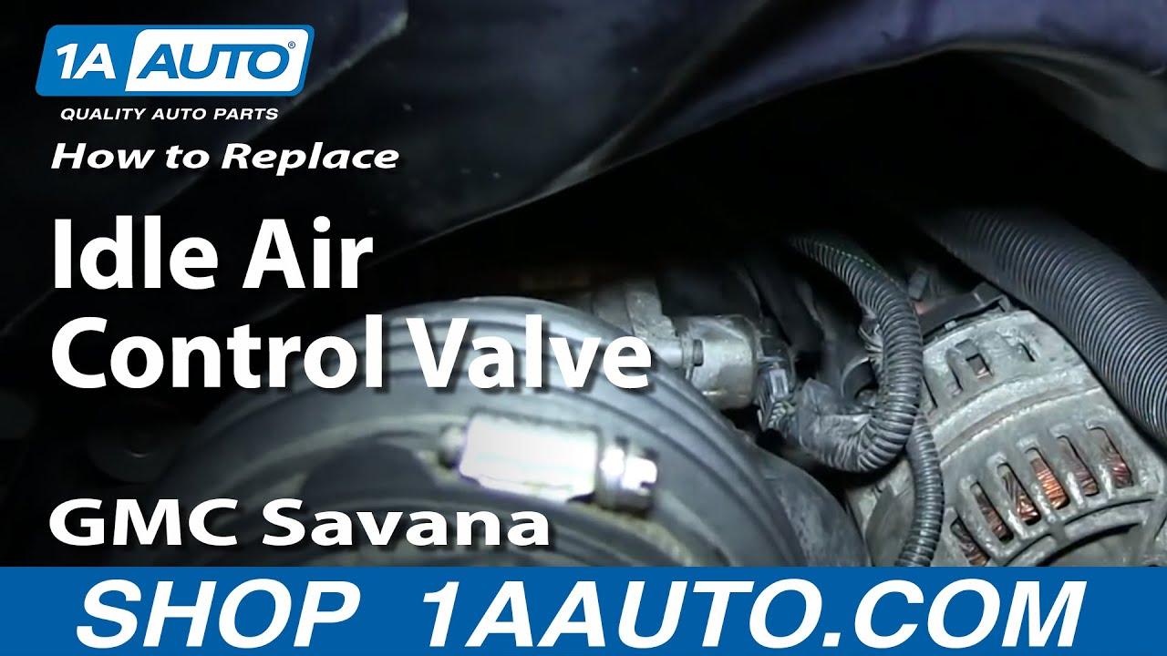 chevy 4 3 idle air control valve location