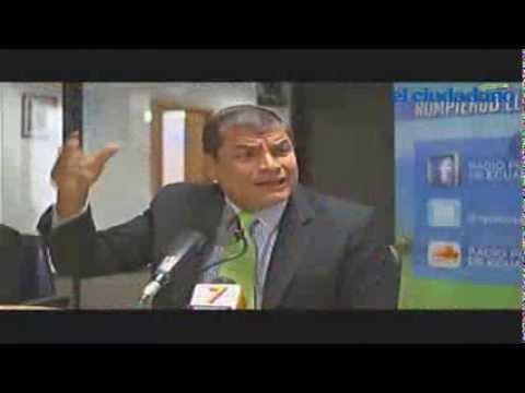 Entrevista al Sr. Presidente Rafael Correa en Radio Pública del Ecuador