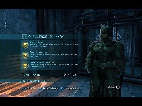 Batman Arkham Origins Predator Challenges Batman Arkham Origins