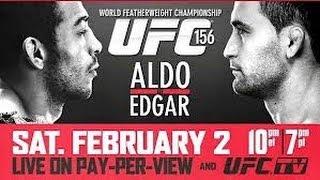 UFC 156: Jose Aldo Vs Frankie Edgard HD