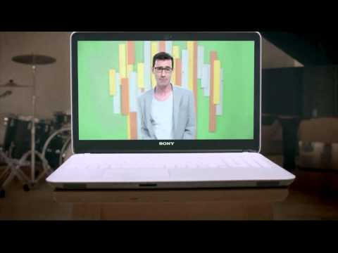 Sony Vaio Sonic Laptops New Advertisement : S...