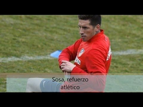 Sosa, fichaje del Atletico de Madrid.