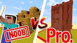 Thử Thách NOOB Làm Nhà Địa Ngục Trong Minecraft