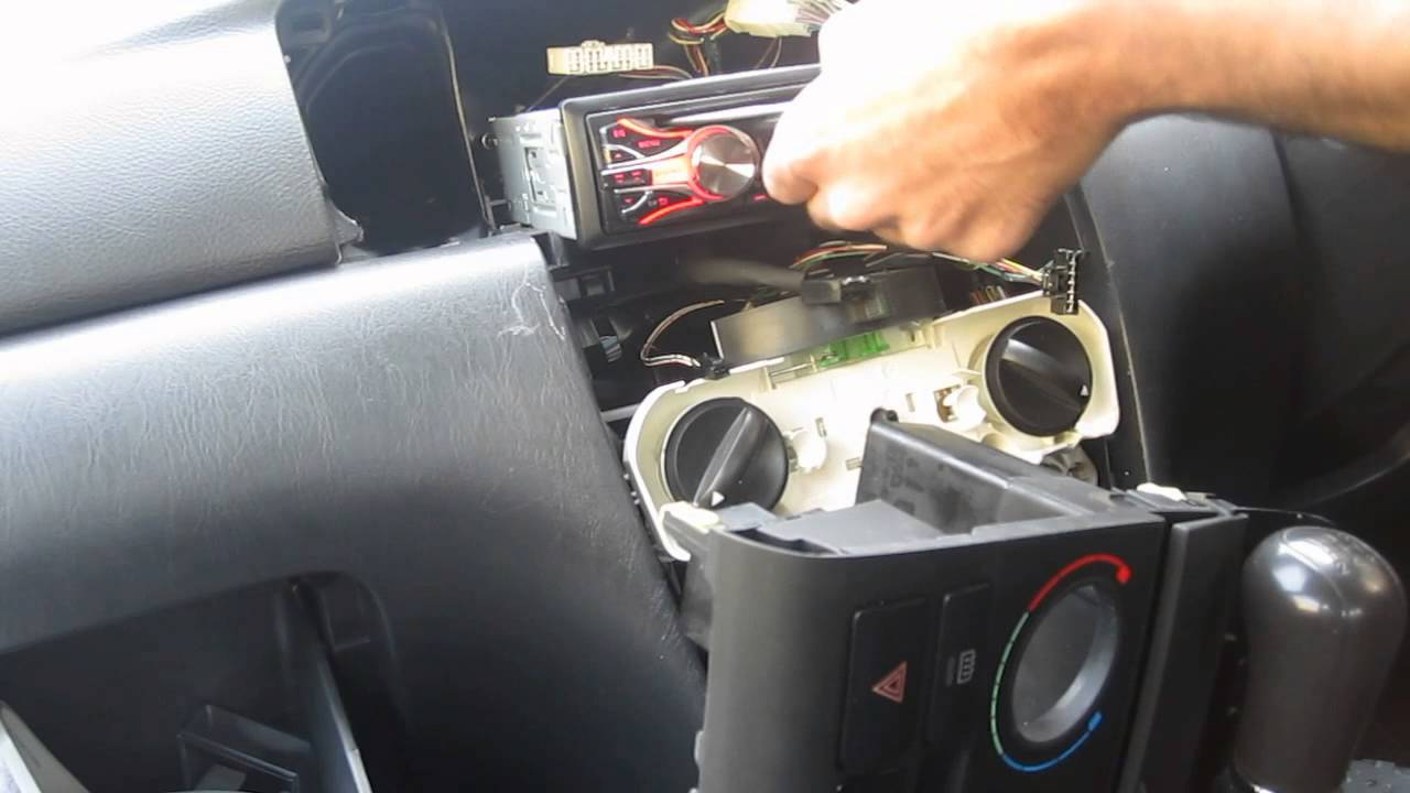 Replacing my car stereo jvc kd r youtube