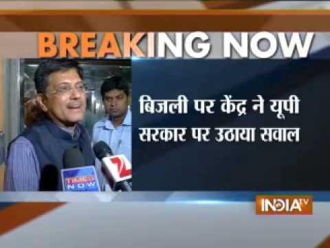Akhilesh Govt. can buy power from Centre: Piyush Goyal