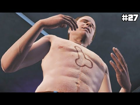 GTA 5 - LAZLOW GETS A TATTOO! - (GTA V Lets Play #27)
