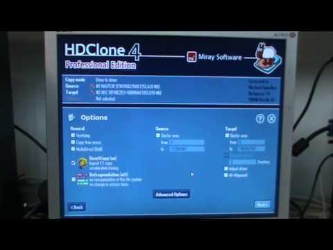 Cómo clonar un disco duro con HDClone