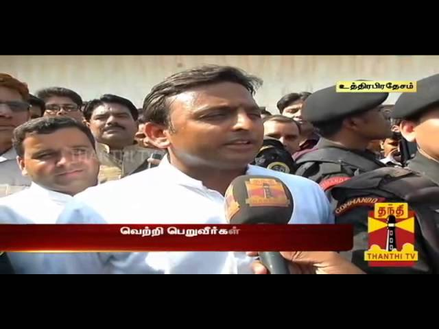 Exclusive Interview with UP Chief Minister Akhilesh Yadav : Thanthi TV
