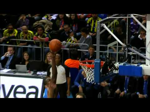 Serge Ibaka's BIG Block at the NBA Global Games
