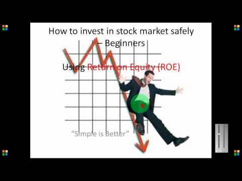 How to invest in stock market safely - Beginners