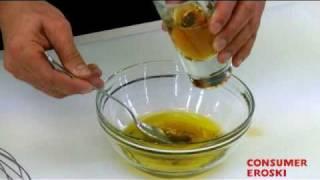 Como hacer una vinagreta