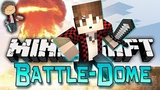 Minecraft: BATTLE-DOME w/Mitch & Friends Part 1 - TAKE YOUR HEAD START!