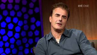 Chris Noth describes the reaction he gets as 'Mr Big'