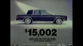 1985 Chrysler Fifth Avenue Commercial