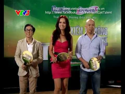 Vietnam\&#39s Got Talent 2012 - 2013 Tập 2 (9/12/2012) - Đoàn Thị Mỹ Hạnh & Đoàn Thị Mỹ Duyên - Tìm kiếm tài năng Việt Nam