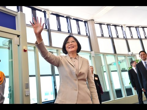 President Tsai departs on journey to diplomatic allies Panama and Paraguay