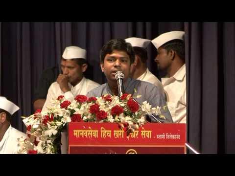 Shri  Ravindra Ambekar Speech At Mumbai Dabbawala @125