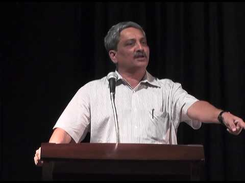 Manohar Parrikar @ Bangalore Part 2