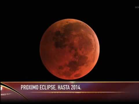 Ultimo eclipse lunar hasta el 2014