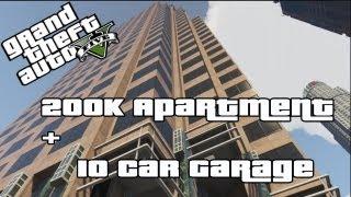 GTA V (Online) Buying Myself A 200k Apartment + 10 Car