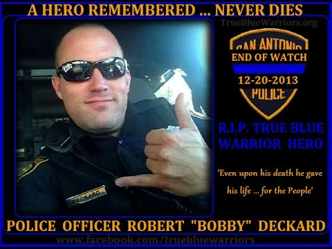 Farewell to officer Robert Deckard