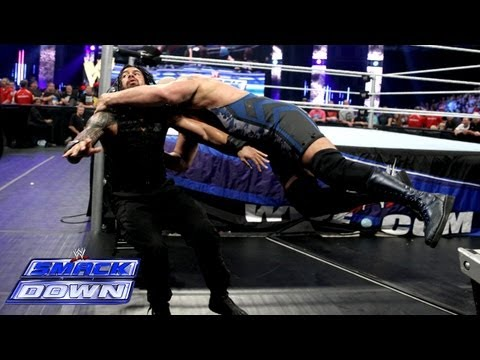 Big Show and The Shield battle it out: WWE SmackDown, Sept. 13, 2013,