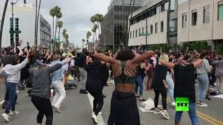 فنانون وممثلون ينضمون للتظاهرات ضد العنصرية