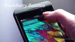 BlackBerry Z10 Hands-On & Software Tour