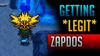 How & Where To Catch/get *LEGIT* Zapdos In Pokemon Black